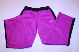Youth Girls Nike Therma Fit L Fucia Pants - $14.01