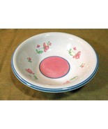 "Newcor 1989 Longarno Serving Bowl 9"" Excellent - $10.70"