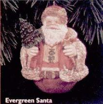 Hallmark QX5714 Evergreen Santa Special Edition 1996 Keepsake Ornament QX5714 - $4.95