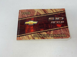 1998 Chevy S10 Pickup Owners Manual Handbook OEM Z0A1534 - $31.67