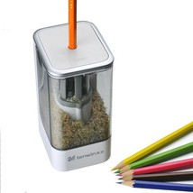 Electric Sharpener Automatic Pencil Tip Sharp Hole Plug Kids School Equi... - $24.30