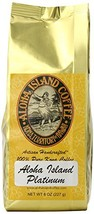 Aloha Island Coffee PLATINUM Organic 100% Pure Kona Coffee, 8 Oz Whole B... - €44,29 EUR