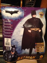 Rubies #883104 The Dark Knight Batman Boys Muscle Chest Costume Small 4-... - $19.99