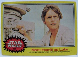 1977 Star Wars Series Three (Yellow Border) Trading Card #189 Luke - $0.98