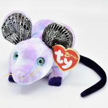 2000 TY Beanie Baby Zodiac Year of the Rat Retired Beanbag Plush Toy Doll