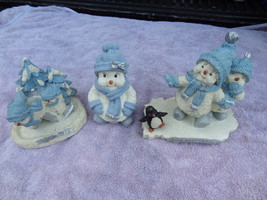 SNOW BUDDIES COLLECTIBLES  LOT OF 3 FIGURES SNOW OFF  THE IMPERSONATOR &... - $29.99