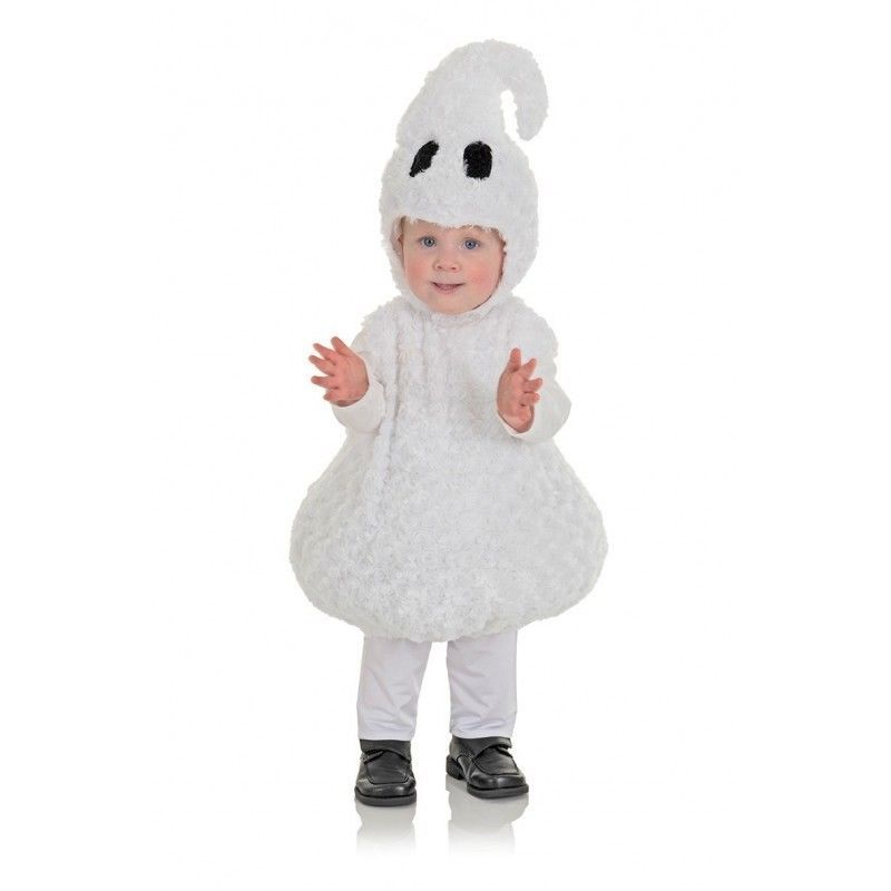 Underwraps Ghost Belly Babies Spooky Infant Toddler Halloween Costume 25819
