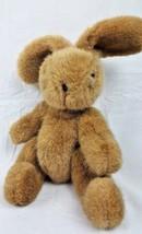 Ganz Bean Bag Bunny Brown 1991 Vintage Plush Stuffed Animal  - $18.80
