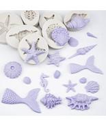 18 Style Ocean Shell Silicone Mold Fondant Cake Decorating Baking DIY Mo... - $26.30