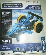 NEW Racecar Kinetic Machines 5 Different Models You Build Engineering Ma... - $17.60