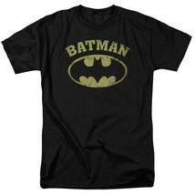 Batman DC Comics Superhero Distressed Batman Logo Graphic T-shirt BM2584 image 1
