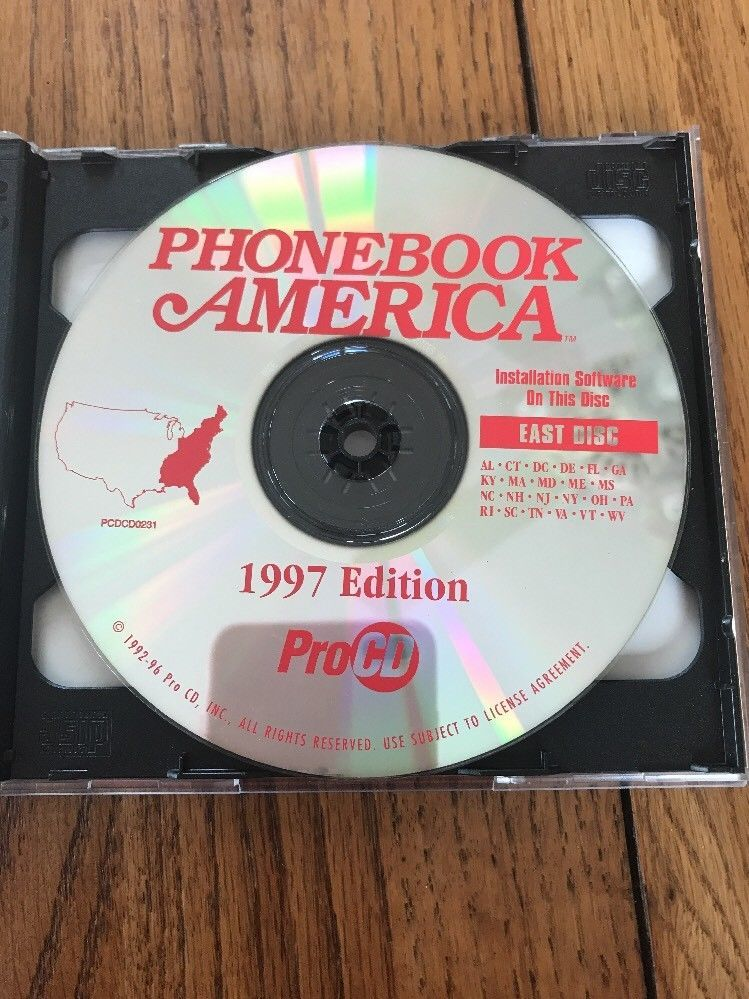 Every Phonebook In America On 2 CD-ROMs Ships N 24h image 4