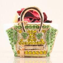 Purse Fashion Keychain Crystal Charm Cute Gift Bag Pouch #MCK11 - $18.17