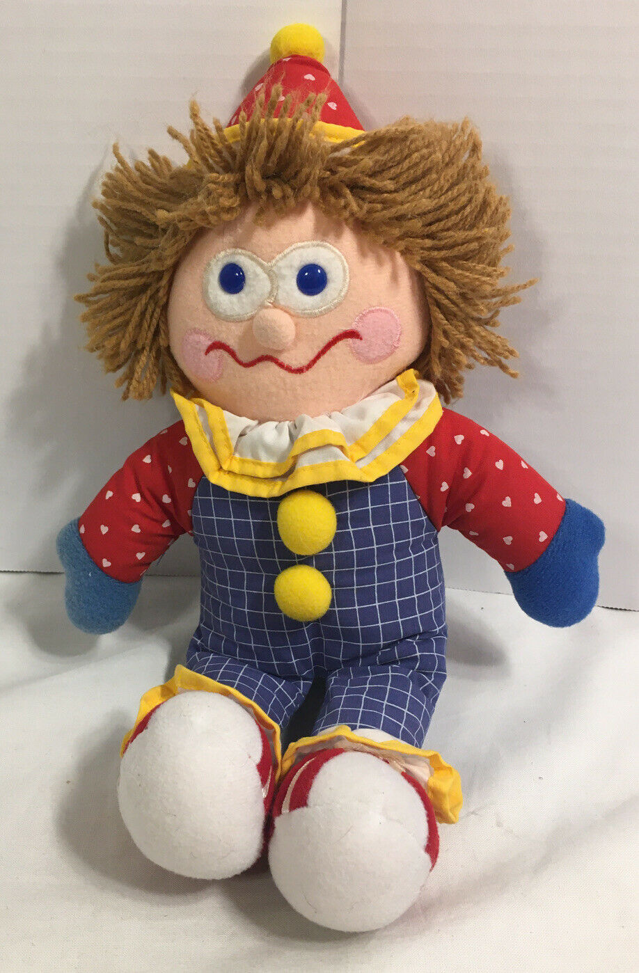 "Primary image for Gymboree Gymbo The Clown Plush 12"" Soft Toy Stuffed 1984 1985 EUC"