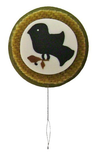 Thrsc1056 black sampler bird