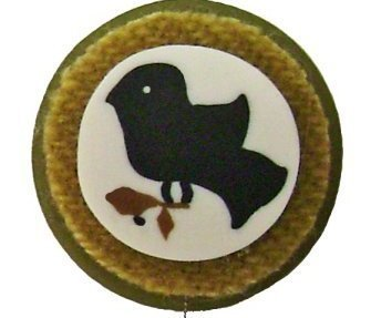 Black Sampler Bird Just Threader thrsc1056 needle sewing Just Another Button Co