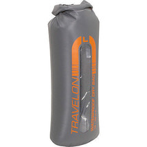NEW TRAVELON SELF SEAL TRAVEL DRY BAG FOR CAMPING HIKING BEACH ORANGE LARGE - $24.70