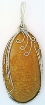 Picture Jasper Stainless Steel Wire Wrap Pendant 14 - $27.99