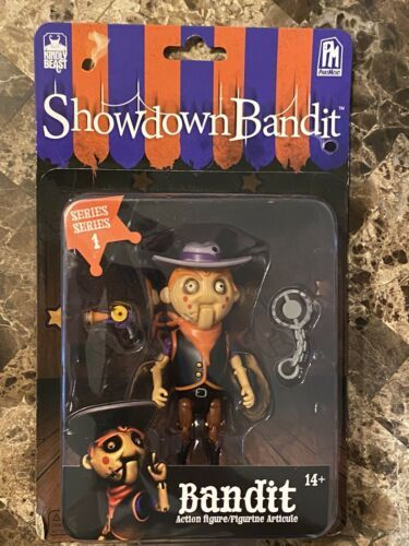 Primary image for PhatMojo Showdown Bandit Series 1 BANDIT Action Figure Kindly Beast NEW!