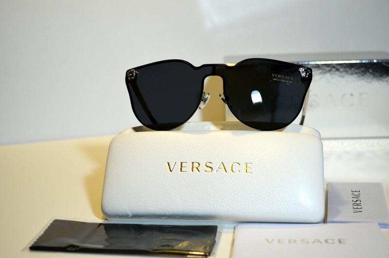 30c8f3187bd kgrhqn hmfcwfim0rtbquuz1puvw 60 3. kgrhqn hmfcwfim0rtbquuz1puvw 60 3.  Previous. New Unique Rimless Authentic Versace Sunglasses VE2120 100087 VE  2120 Italy