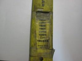 Caterpillar T60C Thru T120C Sollevamento Carrelli Manuale di Manutenzion... - $197.95