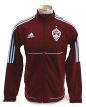 Adidas MLS Colorado Rapids Burgundy Zip Front Track Jacket Men's NWT - $74.99