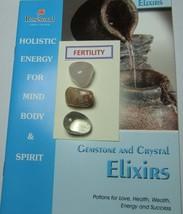 Gemstone and Crystal Elixirs - 'FERTILITY' Includes 3 Gemstones & 2 Grea... - £3.81 GBP