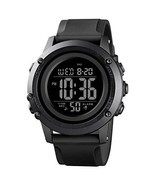 Men's Digital Sports Watch Large Face Waterproof Wrist Watches for Men w... - $27.31 CAD