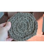 "Handmade Scrubbies (Dishcloth & Potholders) Pink & Gray 1/2"" Thick RRM100 - $2.69"