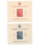 SAN MARINO - 1937 TERCENTENARY *MINT UNHINGED* MINI-SHEETS (CV £50+) - £14.68 GBP