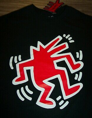 Primary image for KEITH HARING Dancing Dog Pop Art T-Shirt MENS 2XL XXL NEW w/ TAG