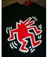 KEITH HARING Dancing Dog Pop Art T-Shirt MENS 2XL XXL NEW w/ TAG - $19.80