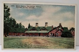 Colorado Springs World Famous Van Briggle Pottery 1920's Postcard C4 - $5.95