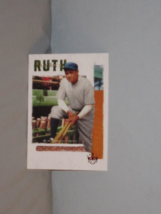 2019 Panini Diamond Kings Babe Ruth Collection NY Yankees  - $2.49