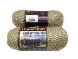 Lion Brand Yarn 790-311 Homespun Yarn, Rococo Pack of 2 Skeins  - $14.94