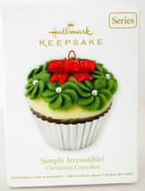 Hallmark: Simply Irresistible! - Christmas Cupcakes - 2011 - Keepsake Or... - $14.15