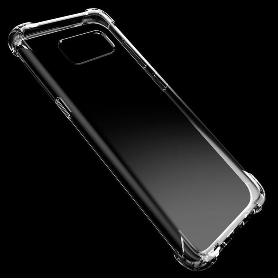 Anti-knock Silicon Cases For Samsung Galaxy S10+ S9 S8 A6 A8 J4 J6 Plus 2018 Not