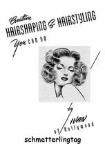 Hairstyles Book Swing Era Illustrated Glamorous 1940s - $14.99