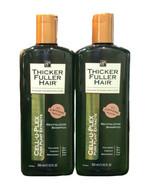Thicker Fuller Hair Revitalizing Shampoo Cell-U-Plex Caffeine  12 oz Lot... - $44.43