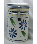 Certified International Corp Blue Flowers Flour Canister - $10.70