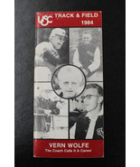1984 USC Trojans Track and Field Median Guide Vern Wolfe Coach on the Co... - $19.79