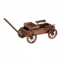 Old World Planter Wagon - $2.443,45 MXN