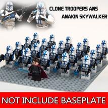 21pcs Clone Trooper Ans Anakin Skywalker Star Wars Mini Figures Blocks - $29.95
