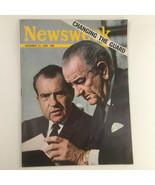 Newsweek Magazine December 23 1968 Richard Nixon & Lyndon B. Johnson No ... - $37.95
