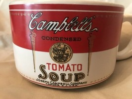 Vintage Campbell's Condensed Tomato Soup Cup Bowl Mug 1994 Westwood Coll... - $4.95