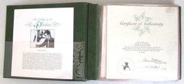 Vintage 1980 Wildlife of the 50 States First Day Covers Fleetwood Binder... - $14.84