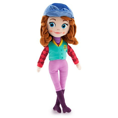 "Disney Sofia the First Plush Doll - Equestrian Sofia - 13"" Tall"