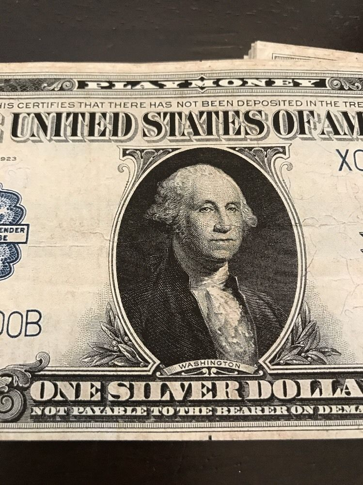 20 In 1923 Silver Certificate 1 Bills And 50 Similar Items