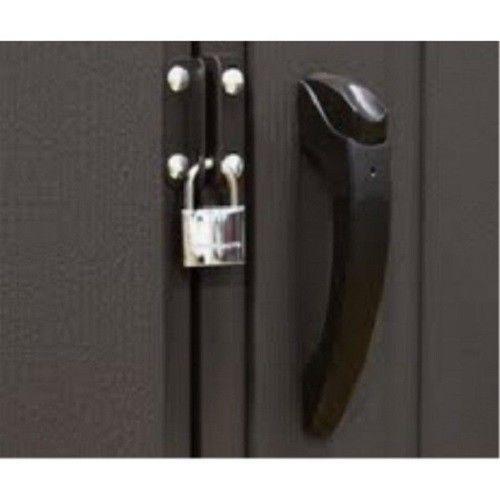 Lifetime 11x11 Plastic Storage Shed w/ 9ft Wide Doors [60187]