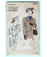Vintage Vogue 7746 Women's Fitted Jacket size 18 Bust 36 - $18.00